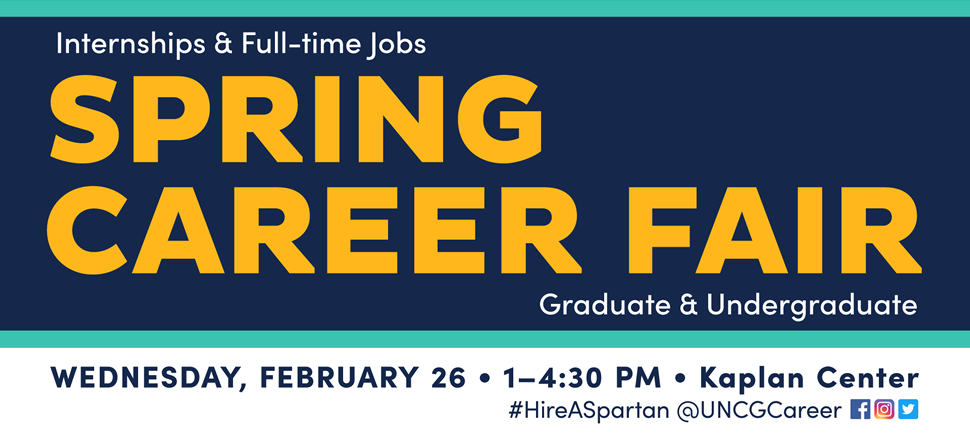 Career Fair Prep Week February 12th-16th. Login to SpartanCareers for event descriptions, times, and locations