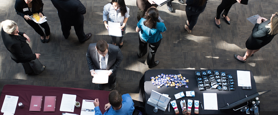 Attend Events and Career Fairs