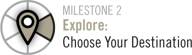 Milestone 2 Explore:Choose Your Destination