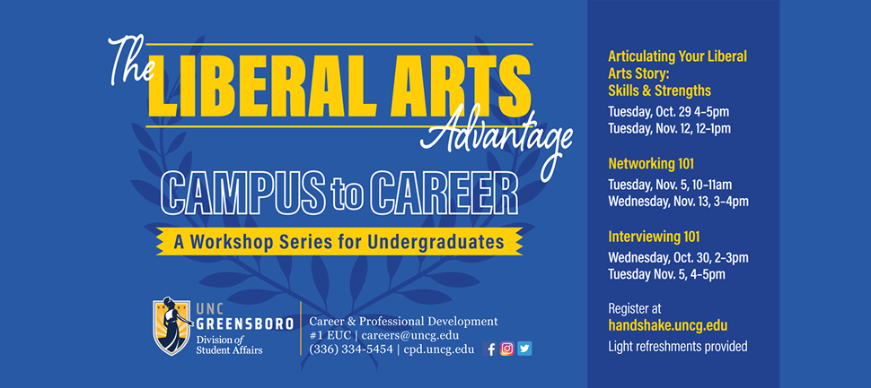 The Liberal Arts Advantage: Launching from Campus to Career