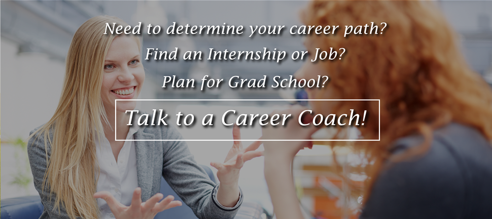 Schedule an appointment with a Career Coach Today